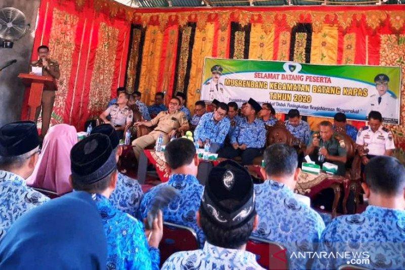 Hendrajoni buka Musrenbang di Kecamatan Batang Kapas