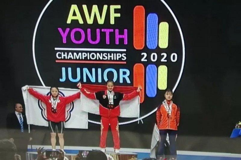 Lifter Indonesia panen medali di Kejuaraan Asia Remaja 2020