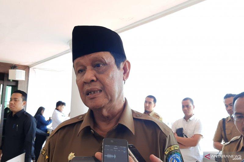 Muka lebam Plt Gubernur Kepri  tidak benar karena dipukul