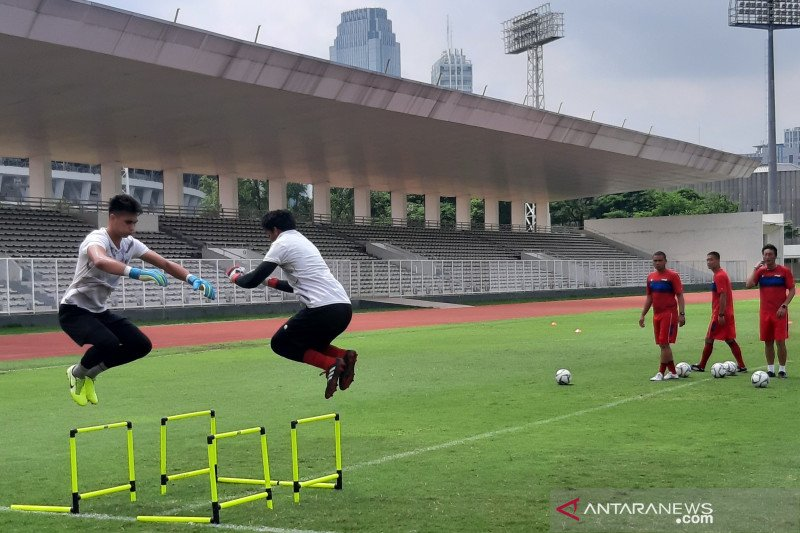 Kiper Timnas Nadeo Argawinata belajar dari blunder di kualifikasi Piala Dunia