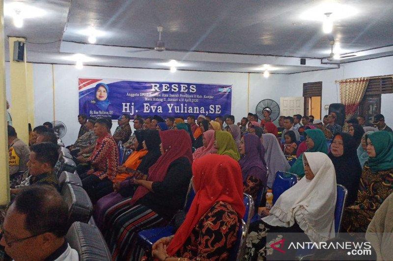 Ini usulan warga Desa Baru saat kunjungan reses anggota DPRD Riau