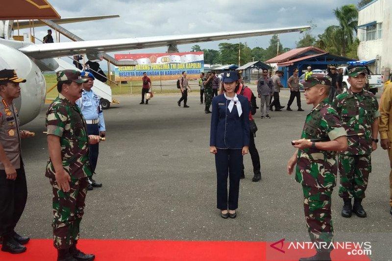 Panglima TNI dan Kapolri gelar rapat tertutup di Timika