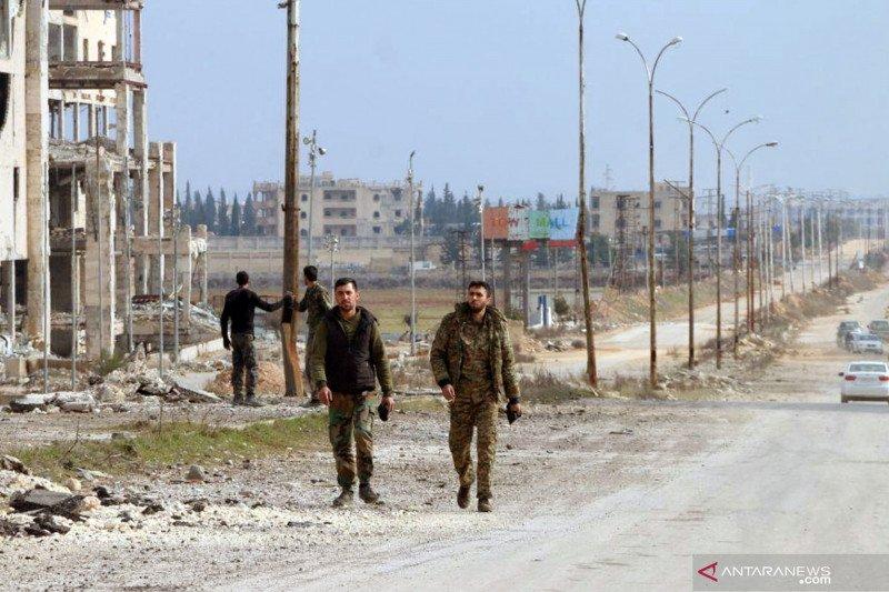 Pemberontak dukungan Turki rebut kota Saraqib, Suriah