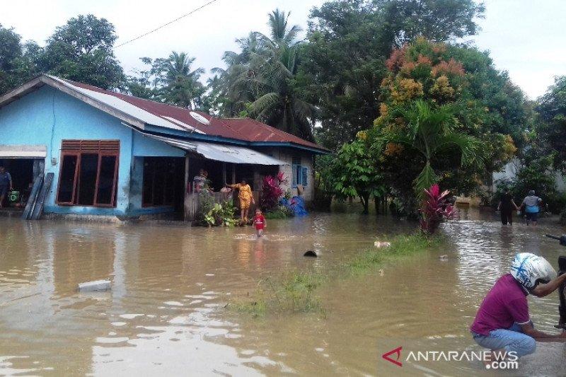Kodim Muba bantu  korban banjir