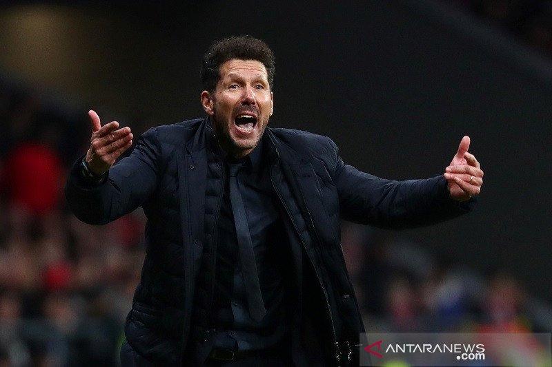 Simeone bangga Atletico mampu kalahkan Liverpool juara bertahan Liga Champions