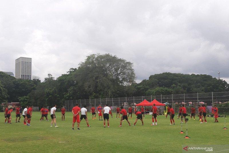 Timnas Indonesia jalani tes fisik hari keenam pemusatan latihan