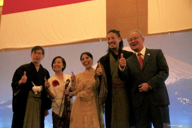 Alan-Susi, vokalis Mocca meriahkan hari nasional Jepang atau HUT Kaisar di Jakarta