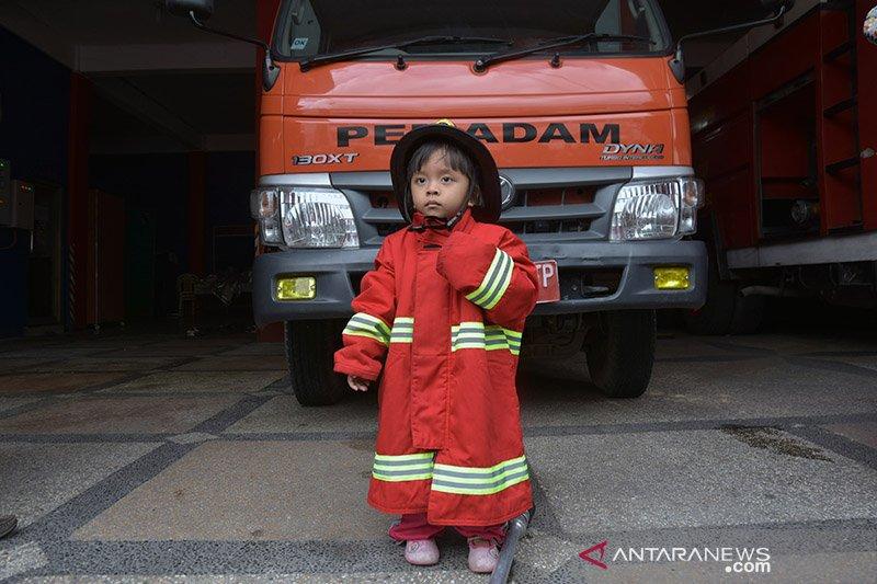 Pemadam Kebakaran Cilik Pekanbaru