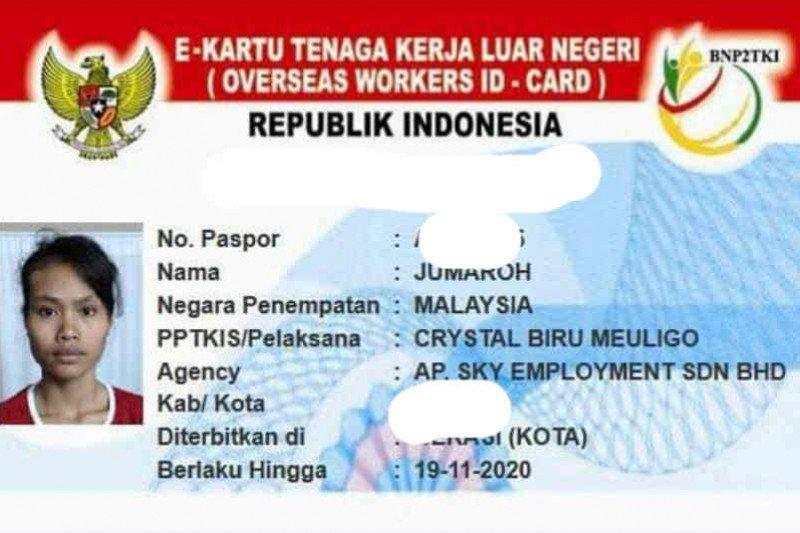 TKW Cirebon dibuang majikan di Malaysia