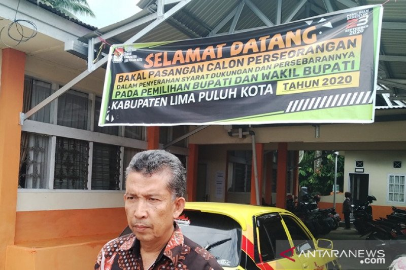 KPU Limapuluh Kota temukan berkas dukungan calon perseorangan tak penuhi syarat