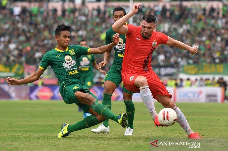 Kalah jumlah pemain sulitkan Persija Jakarta saat hadapi Persebaya