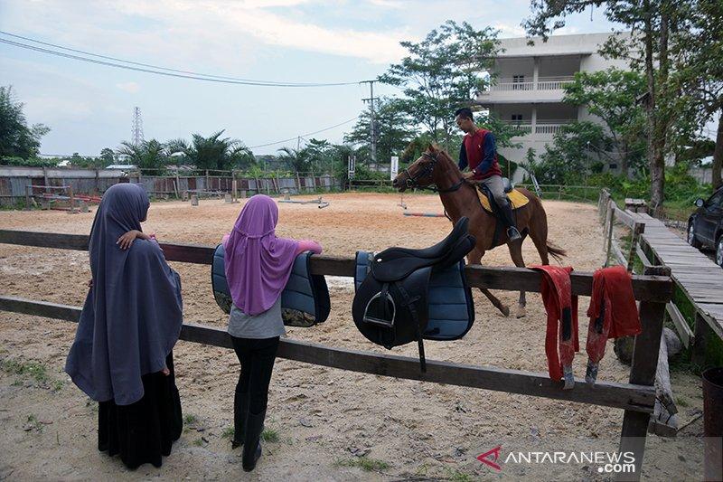 Melihat aksi Joki Cilik di Pekanbaru