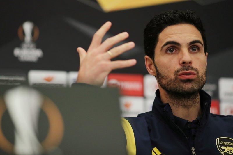 Arteta minta pemaiinya tampil berani saat melawan Olympiakos