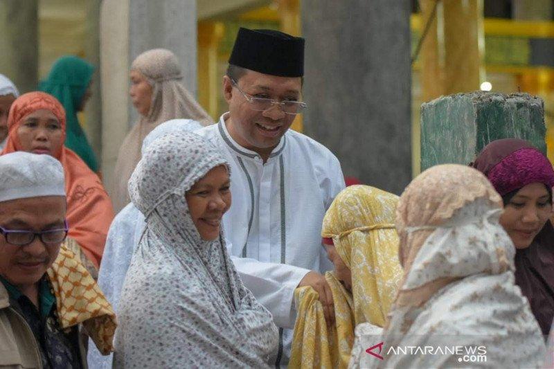 Gubernur NTB mengajak pemuda Lombok Tengah jadi pengusaha