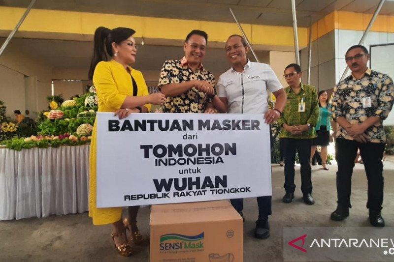 Pemerintah Kota Tomohon donasikan 10 ribu masker untuk warga Wuhan-Tiongkok