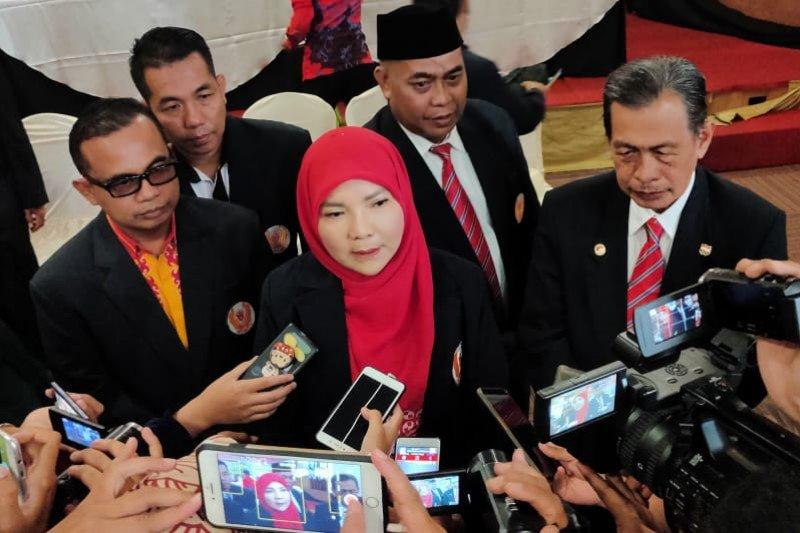 Eva Dwiana kembali terpilih Ketua KONI Kota Bandarlampung