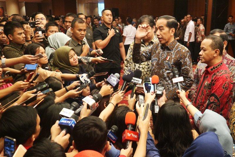 Presiden Jokowi cermati besarnya dana daerah mengendap pada 2019