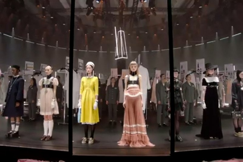 Gucci ucapkan selamat tinggal pada acara pekan mode
