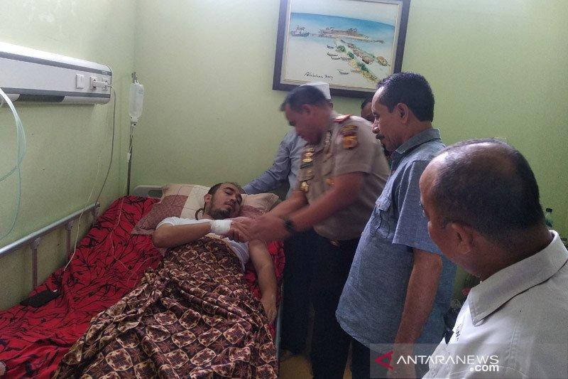 Wartawan korban pengeroyokan di Aceh ditetapkan tersangka