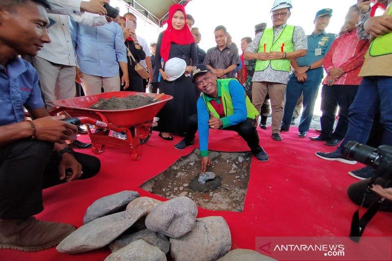 Pembangunan Mall Tatura Palu dimulai