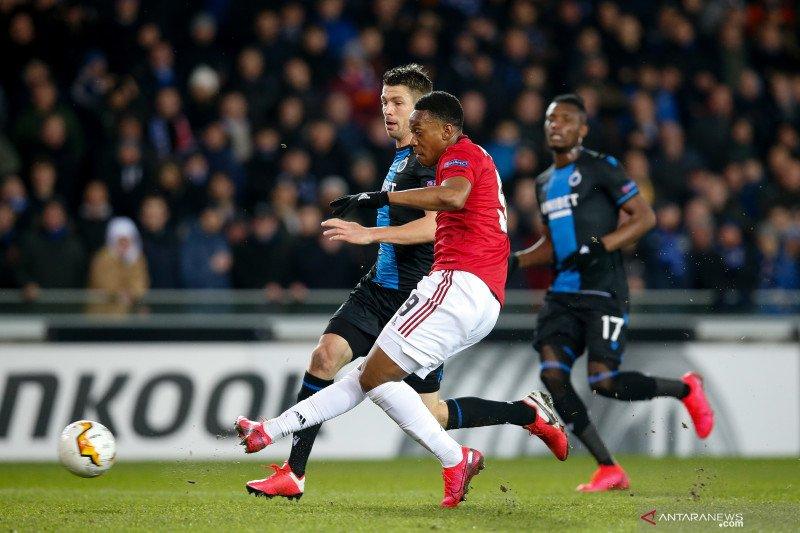 Martial cetak gol penting saat United terhindar dari kekalahan
