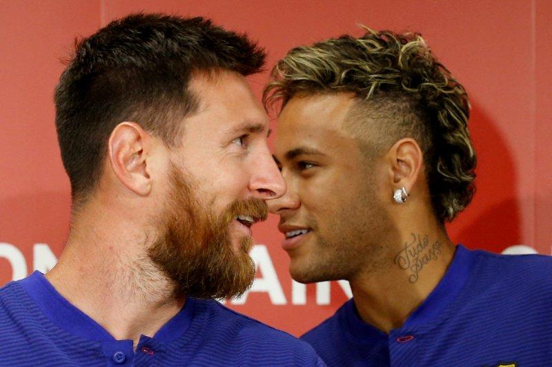 Lionel Messi masih berharap Neymar kembali ke Barcelona