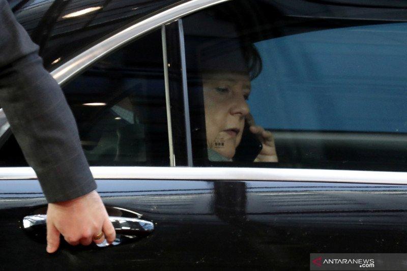 Merkel tolak undangan Trump