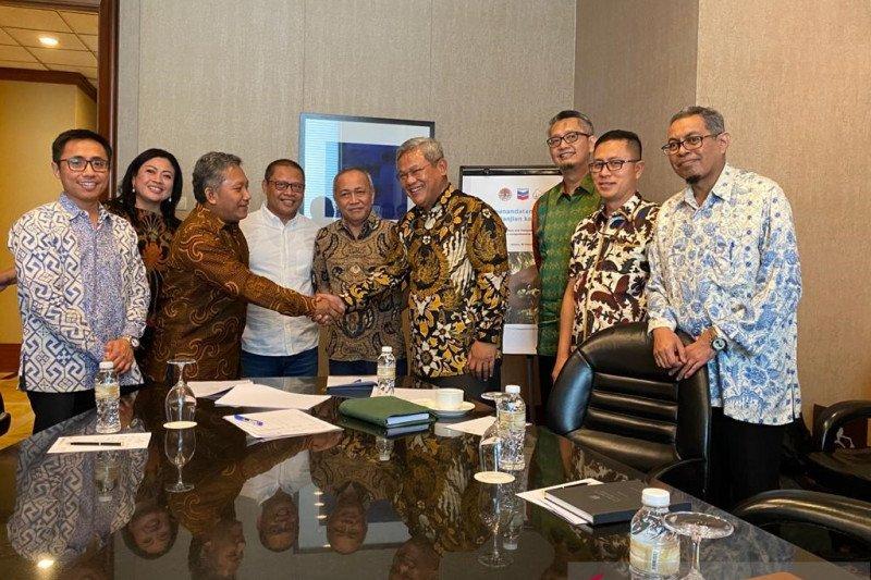PT CPI sumbang peralatan pantau kawanan gajah Sumatera