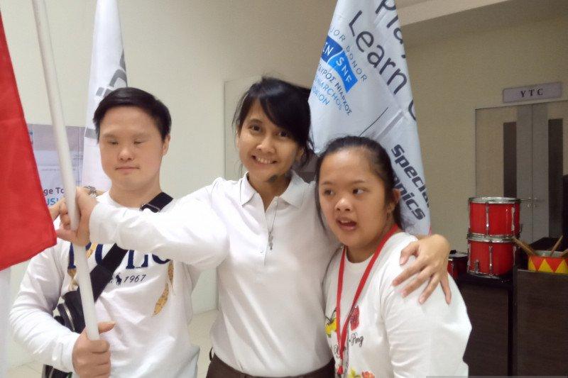 Special Olympics Indonesia membekali siswa difabel bidang olahraga