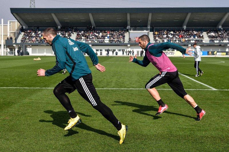 Pemain Juventus mulai berlatih, Ronaldo masih jalani isolasi mandiri