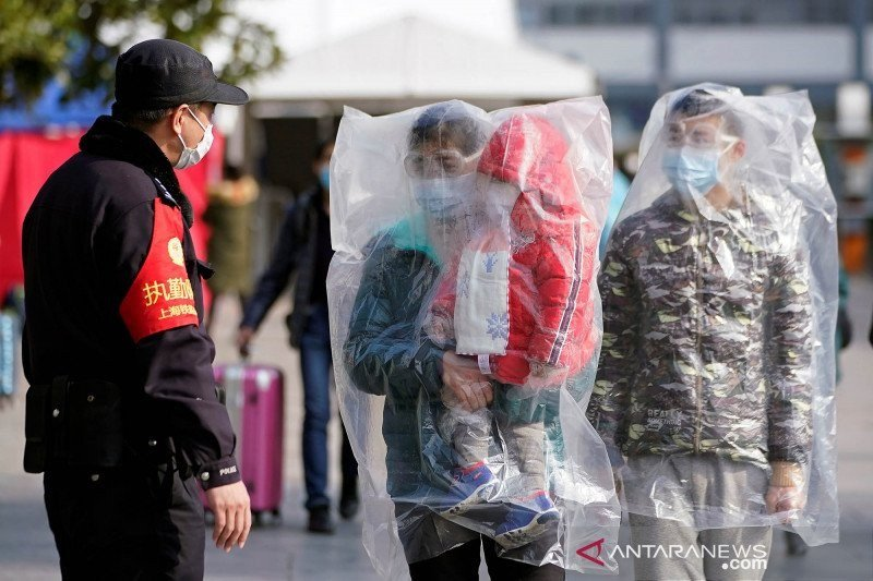 Korban jiwa di China akibat wabah virus corona capai 2.236 orang