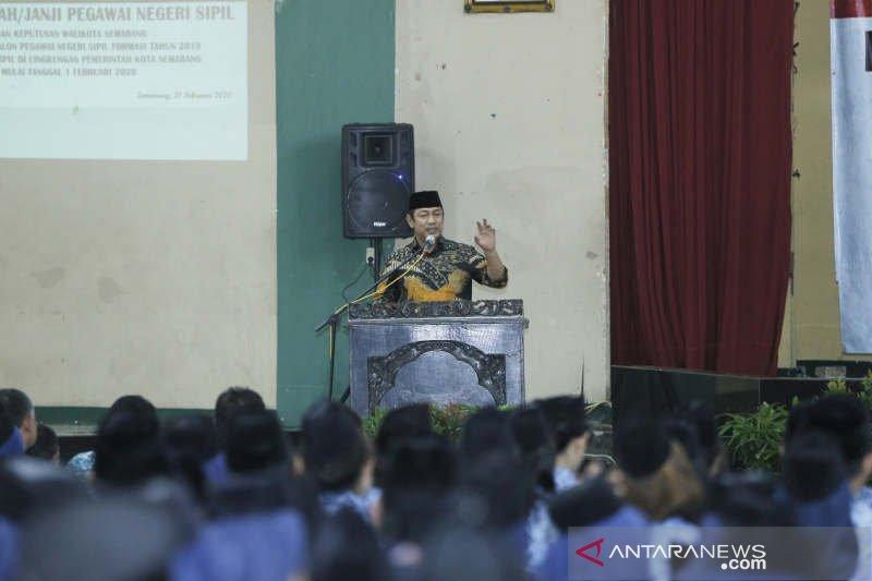 682 orang baca sumpah jadi PNS Semarang