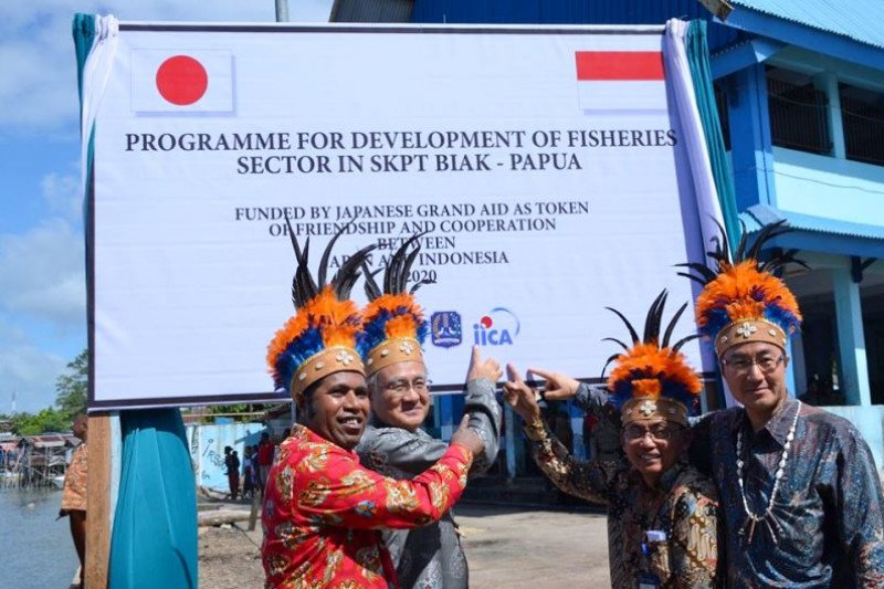 Komitmen Jepang mendukung program SKPT Biak