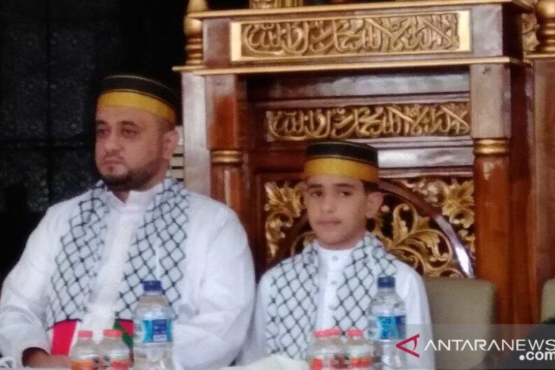 Dai cilik Syekh Yousuf Mounther Eldaia apresiasi RS Indonesia di Palestina