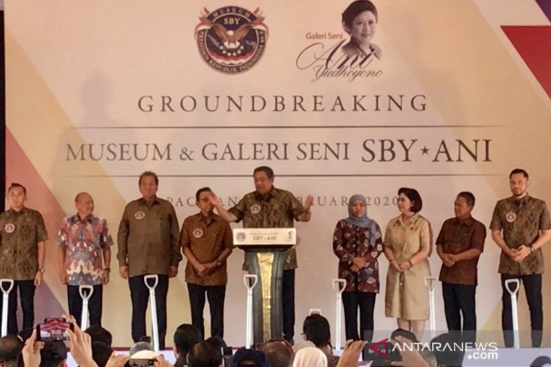 Museum SBY-Ani dibangun di Pacitan amanah Ani Yudhoyono