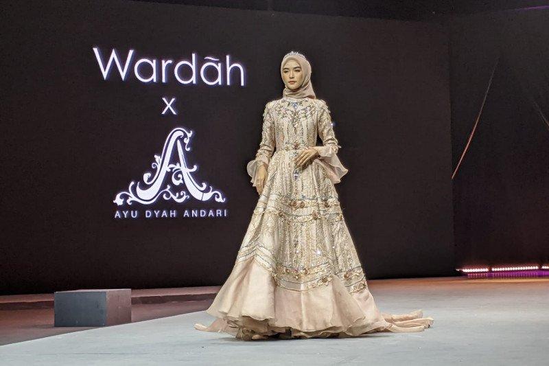 Oase padang pasir pada peragaan busana Muslim Fashion Festival 2020