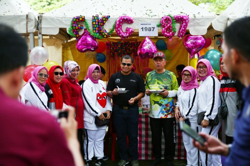 Pj Wali Kota Makassar apresiasi alumni FKG Unhas