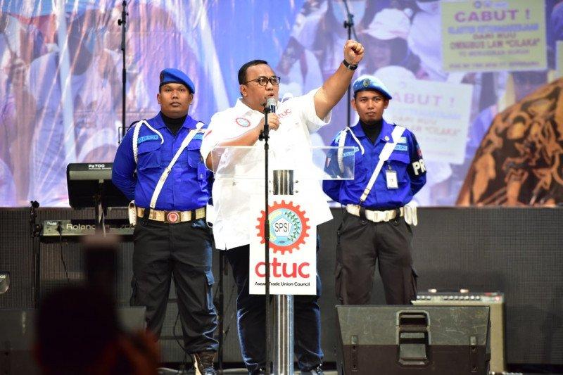Meski dekat dengan pemerintah, KSPSI tetap kritis dan perjuangkan hak buruh