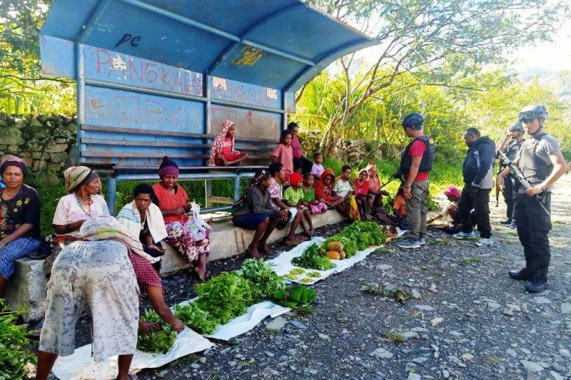 Personel Polsek Mulia Papua gelar patroli dialogis