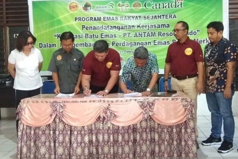 PERS buka akses pasar pertambangan skala kecil di Sulut