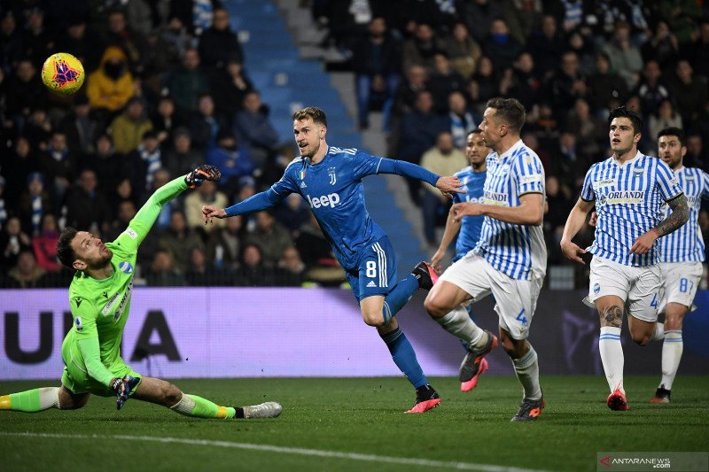 Ronaldo dan Ramsey amankan kemenangan Juventus atas SPAL