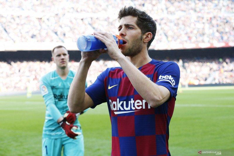 Barcelona konfirmasi cedera Sergi Roberto