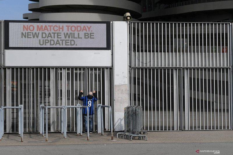 Sejumlah pertandingan Liga Italia akan dimainkan tanpa penonton akibat virus corona