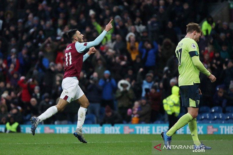Burnley lanjutkan tren positif menang 3-0 atas Bournemouth