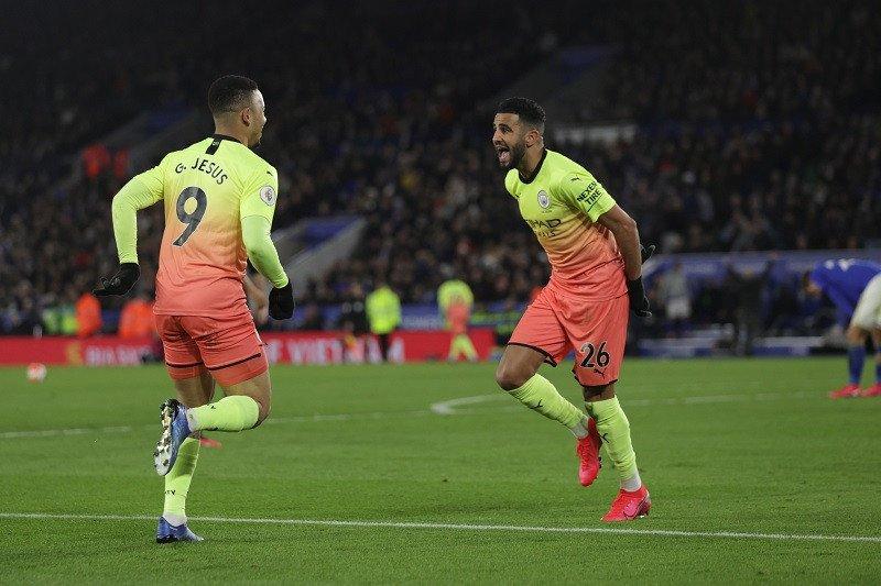 Jesus amankan tiga poin Manchester City di kandang Leicester