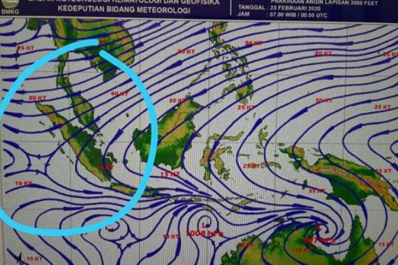 BMKG minta warga Gunungsitoli waspadai potensi angin kencang