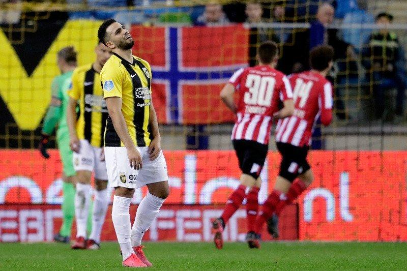 PSV bungkam Vitesse 2-1 pada pertandingan Liga Belanda