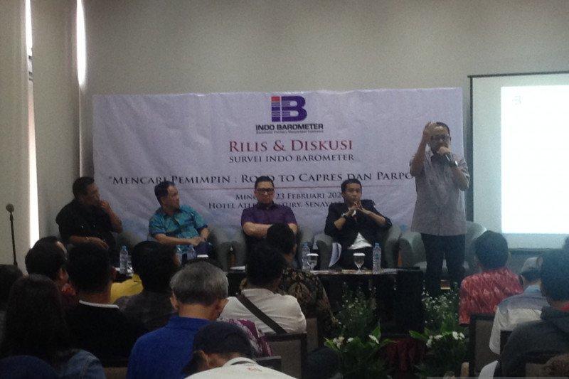 Indo Barometer: Prabowo diunggulkan jadi capres