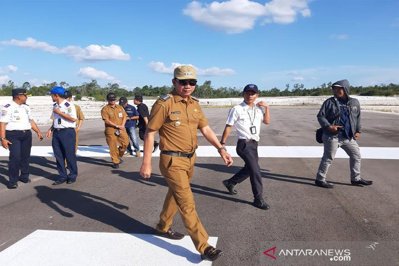 Bandara Muhammad Sidik diharapkan beroperasi tahun ini