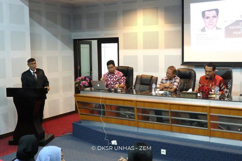 Deputi Menkopolhukam bahas tantangan kawasan ASEAN di Universitas Hasanuddin
